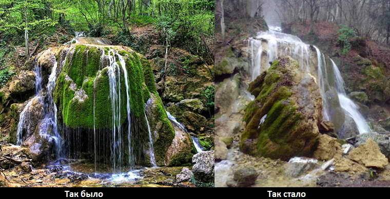 Пещеры, водопады и каньоны Крыма