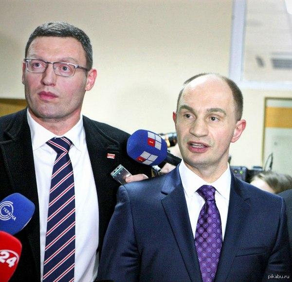 Арсений Ячко и Виталий Клиценюк