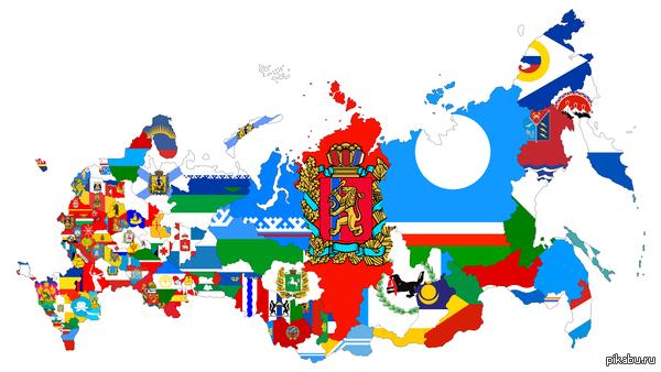 Карта России Паша Воля