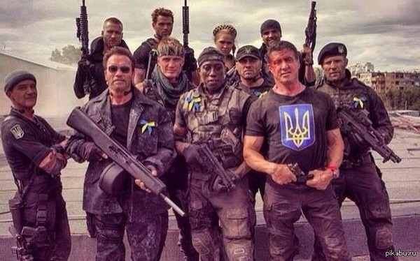Западные наемники в украинской армии