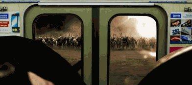 Час пик в метро   гифка, 300 спартанцев, метро
