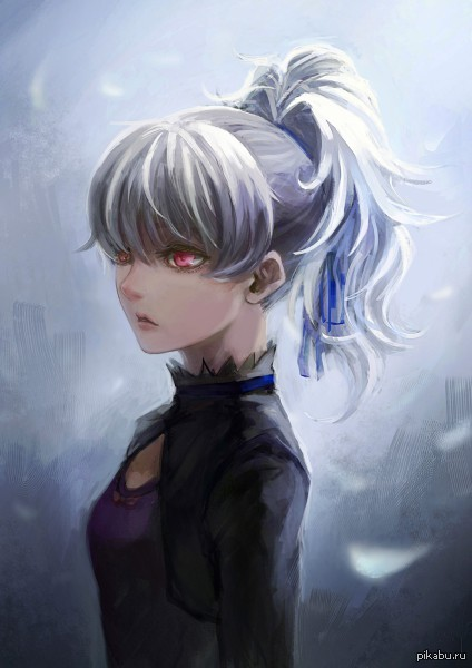 Aniart №7   аниме, арт, темнее черного, Darker than Black, Инь, Керси
