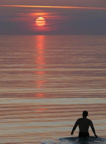 Калининградская область. Куршская коса. На фото я.  калининградская область, балтика, куршская коса, закат