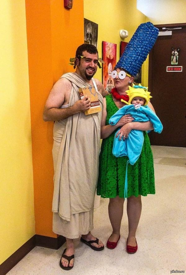Попросила надеть костюм Гомера Оказалось, возникло некоторое недопонимание в терминологии//  симпсоны, гомер, Косплей