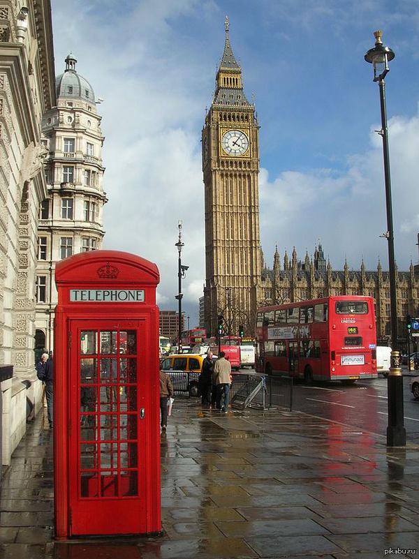 Самое английское фото   Англия, Великобритания, фото, биг бен