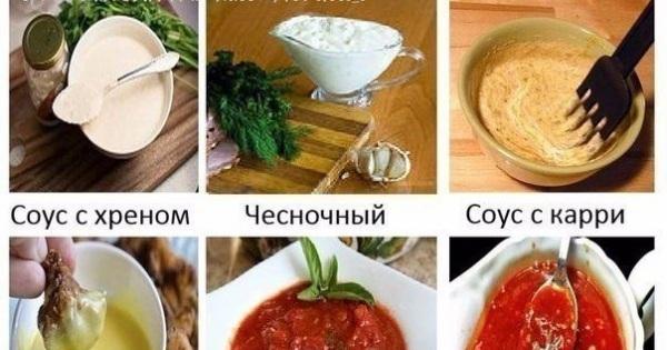 Соусы рецепты в домашних условиях для мяса