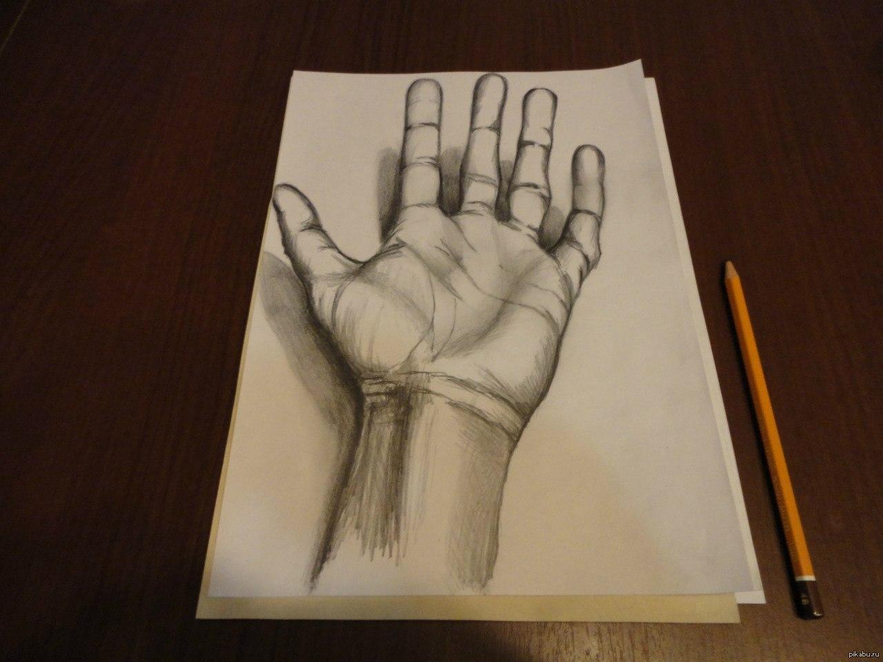 Красивый рисунок своими руками