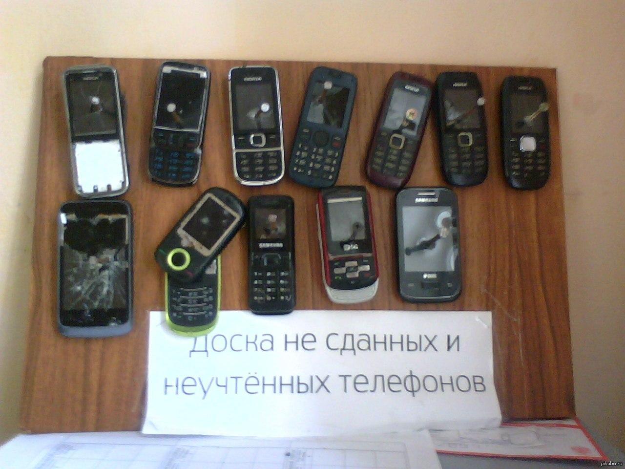 Доска телефон