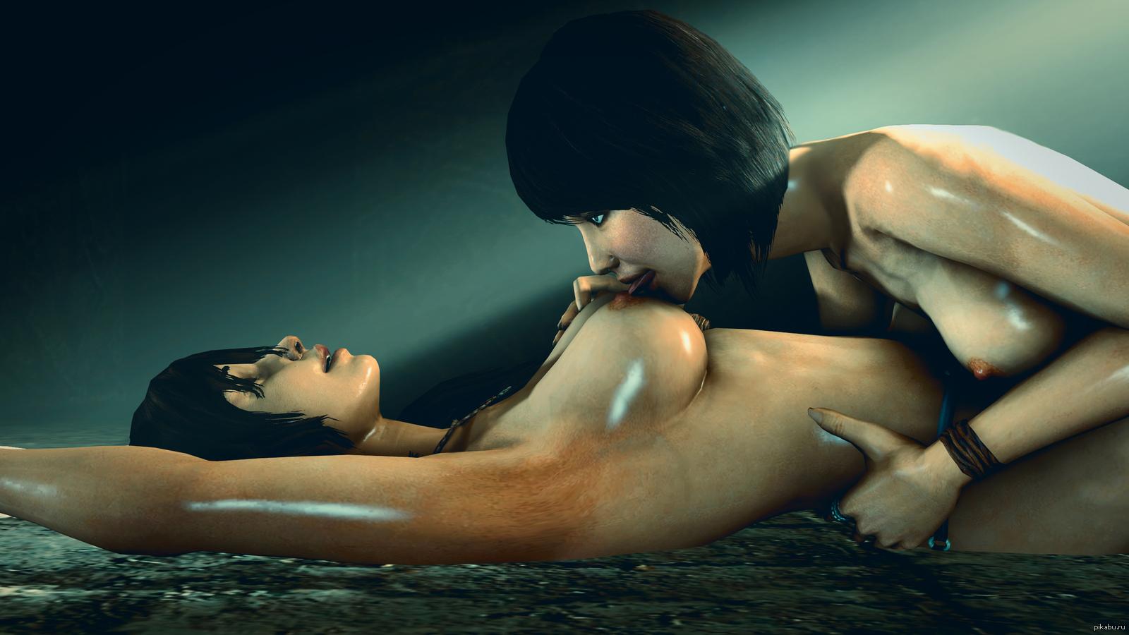 Lara croft lesbian hentai fucked photos