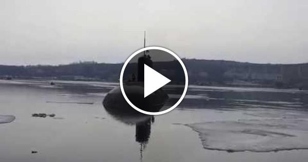 звуки ревуна в подводной лодке слушать